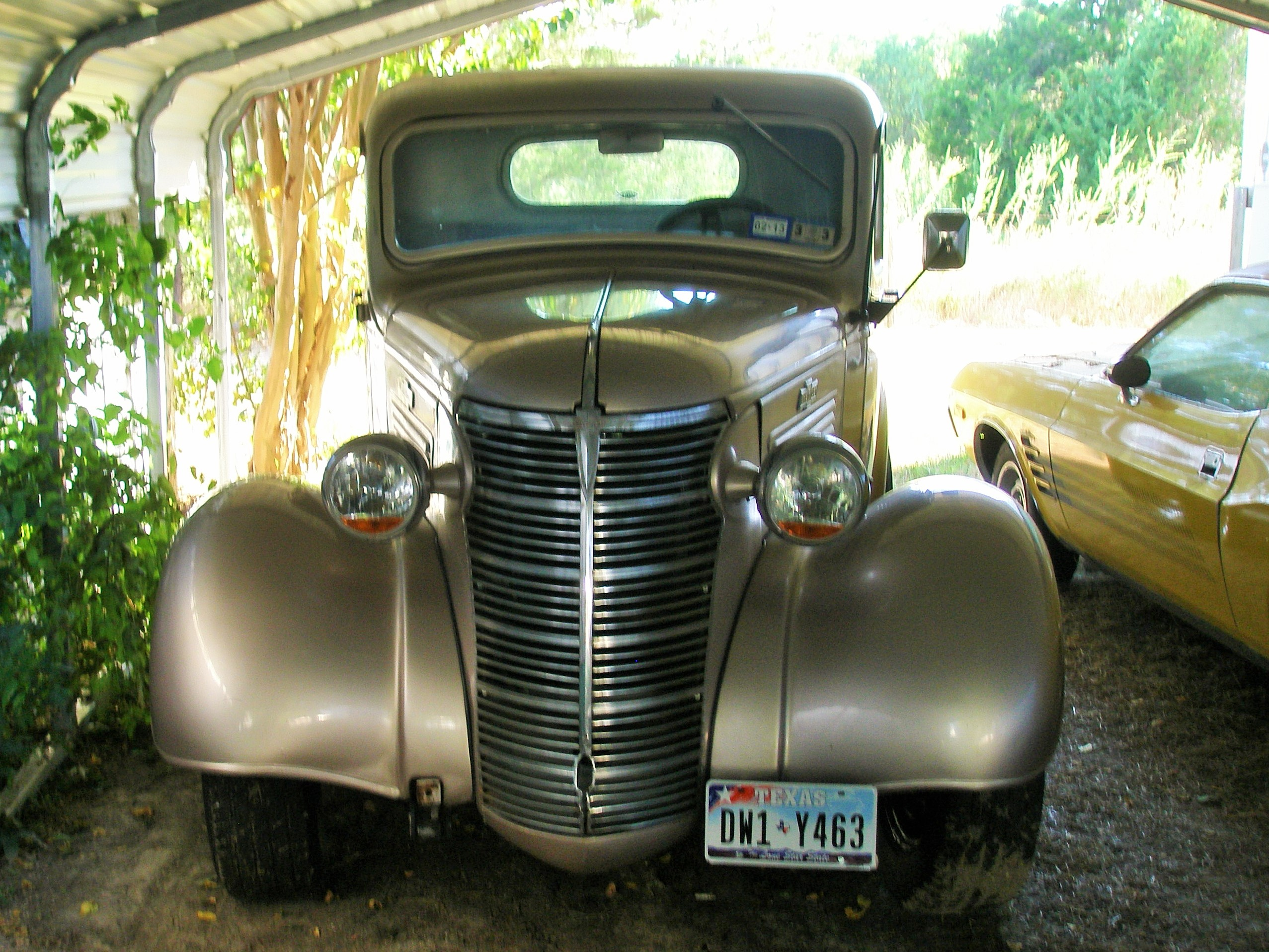 1938 Chevrolet Truck Restoration and Repairs of Metal Work -